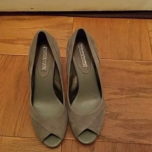 Banana Republic Gray suede shoes